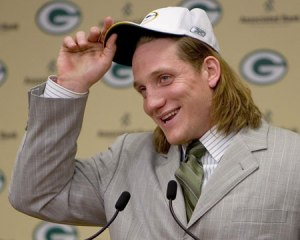A.J. Hawk was the first man off the board for the Packers in 2006.