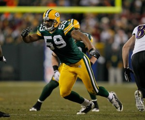 Can Brad Jones hold off the competition and retain his spot as one of the Packers's tarting inside linebackers?