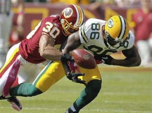 The last time the Packers and Redskins played, Donald Lee was still a thing. Feel old, America.