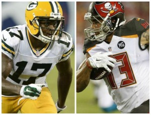 Evans has grabbed the headlines so far, but Adams may yet grow to become a solid receiver.